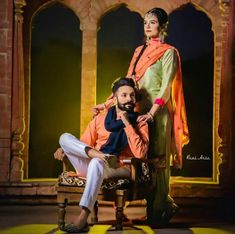 Punjabi Wedding Couple, Indian Wedding Couple Photography, Punjabi Couple, Couple Photography Poses, Romantic Couples, Wedding Couples, Cute Couples, Pre Wedding Poses, Pre Wedding Photoshoot