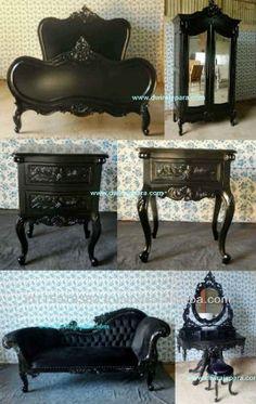 Camera da letto nero mobili dipinti Indonesia- camera da letto set nero La Rochelle mobili in stile francese.-immagine-Camera da letto suite-Id prodotto:139853108-italian.alibaba.com
