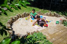 Stonebrook Day School Natural Playground