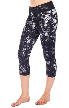 Bring some tie-dye flair to your workout with Nux's V-Fitness crop pant ($65).