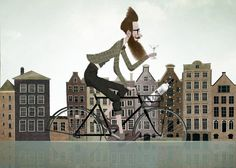 Iban Barrenetxea nos lleva de rutas gastronómicas (y cócteles) por Amsterdam en el número de julio de Vanity Fair.