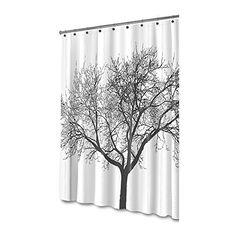Mildew Resistant Shower Curtain Fabric - 72x72 Tree Design Peva Curtain for Bathroom - Waterproof Odorless Eco Friendly Anti Bacterial - Heavy Duty Metal Grommets - Creatov Design by Creatov design, http://www.amazon.com/dp/B016P1WRF8/ref=cm_sw_r_pi_dp_x_dWhtzbWPE91WN