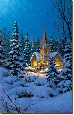 animated christmas and winter snow  Winter landscapes and scenic