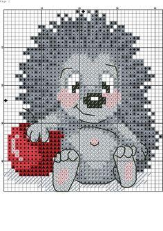 ~ Pin by Becky Motzer on Crafts Hedgehog Cross Stitch, Cute Cross Stitch, Cross Stitch Cards, Beaded Cross Stitch, Cross Stitch Animals, Cross Stitch Kits, Cross Stitch Designs, Modern Cross Stitch, Cross Stitching