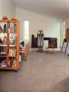 EKO-LOGIC Bianco R - Ceramiche Refin S. - Adaptable to every style - Porcelain stoneware Ceramic Floor Tiles, Wall Tiles, Tile Floor, Floor Design, Tile Design, House Design, Studio Interior, Interior Design, Modern Flooring