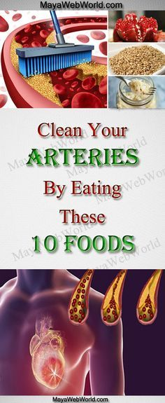Clean Your Arteries By Eating These 10 Foods
