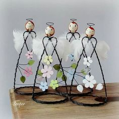 1 million+ Stunning Free Images to Use Anywhere Christmas Angels, All Things Christmas, Christmas Crafts, Christmas Decorations, Christmas Ornaments, Wire Ornaments, Angel Ornaments, Handmade Crafts, Diy And Crafts