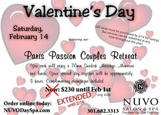 Extended until 2/14/15!!