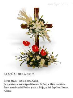 #OraciónCristiana de la Señal de la Cruz usada al persignarse