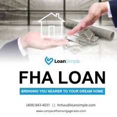 FHA loan bringing you nearer to your dream home...................................#FHALoan #LoanSimple #MortgageRates #Mortgage #FHAHomeLoan #Loan #HomeLoan #FHA #FederalHousingAdministration #VAHomeLoan #dreamhome