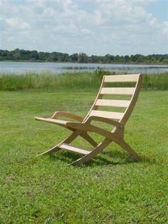 These Adirondack chair plans will help you build an outdoor furniture set that becomes the centerpiece of your backyard . It's a good thing that so many plastic patio chairs are designed to stack, and the aluminum ones fold up flat. Yard Furniture, Folding Furniture, Folding Chair, Furniture Projects, Cool Furniture, Outdoor Furniture, Furniture Stores, Plywood Chair, Plywood Furniture