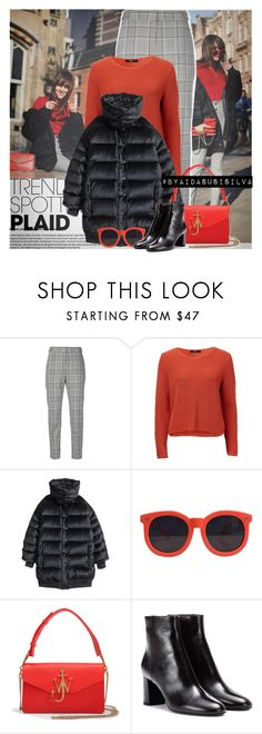 """""""Get The Look: Andy Torres_Style Scrapbook"""" by aidasusisilva ❤ liked on Polyvore featuring Alexander Wang, H&M, Karen Walker, J.W. Anderson and Yves Saint Laurent"""