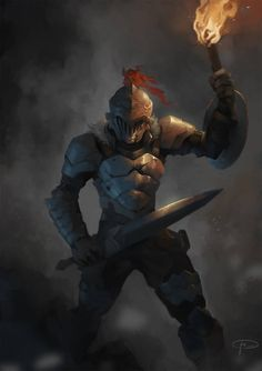 So, the idea of the anime is Dark Souls mocks casual RPG. The Goblin Slayer Gorillaz, Goblin Slayer Meme, By Any Means Necessary, T Art, Character Portraits, Character Art, Character Design, Slayer Anime, Tsundere