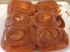 north dakota caramel rolls.... The only way to make a Carmel roll :)