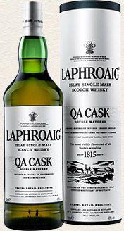 Laphroaig Single Malt Whisky - QA Cask single malt available from Whisky Please.