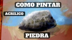 como pintar una piedra (roca) con pintura acrilica - YouTube Painting Tattoo, Body Painting, 3d Chalk Art, Boris Vallejo, Dark Fantasy Art, Black And Grey Tattoos, Art Tips, Face Art, Lower Back Tattoos
