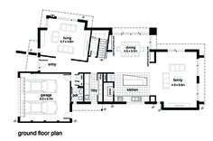 This modern design floor plan is 3146 sq ft and has 4 bedrooms and has bathrooms. Craftsman Floor Plans, Open Floor, Modern Bathroom, Maine, Modern Design, House Plans, Layout, House Design, Flooring