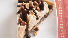 Cookie-Peanut-Ice Cream Pizza