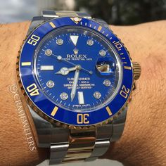 KSK luxury as a way of life⊱✿⊰Rolex Submariner factory diamond dial
