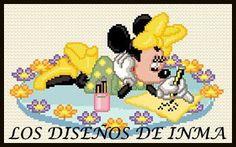 PDF Gráfico Punto de Cruz, Disney 44, Disney Punto de Cruz, Disney, Disney Cross Stitch Pattern