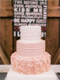 Pasteles de colores para boda   ActitudFEM