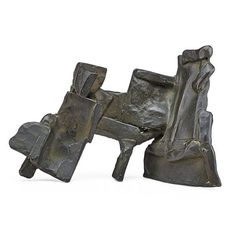 """PETER VOULKOS (1924 - 2002) Early abstract bronze sculpture, California, 1960 Signed and dated 7"""" x 11"""" x 4"""""""