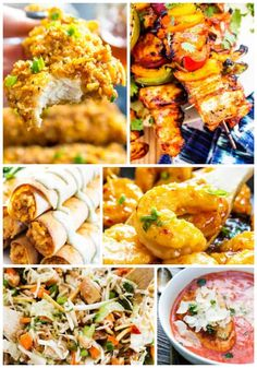 Spring is a great time for barbecues, get togethers and parties; here are 12 deliciously easy meals for Spring that are great for a small group or large gathering. Easy Weeknight Dinners, Quick Meals, Lunch Recipes, Healthy Dinner Recipes, Delicious Recipes, Dinner Party Menu, Spring Recipes, Spring Meals, Barbecues