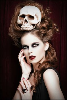 Great Idea...Skull by ~zairia on deviantART