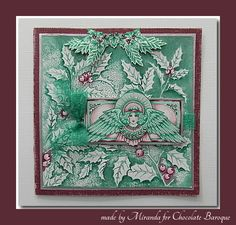Hello there,   There are some new gorgeous Christmas backgrounds and stamps from Chocolate Baroque! Despite the hot summer weather I've be...