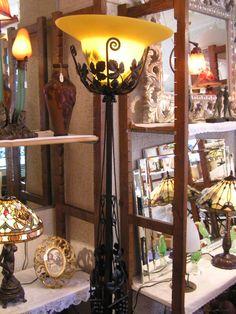 Lampadaire Art Nouveau