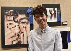 Winners announced for annual Central Texas Art Competition - Temple College Conan Gray, Grey Art, Art Competitions, Ap Art, Art Portfolio, Pretty People, Celebrities, Celebs, Musicians