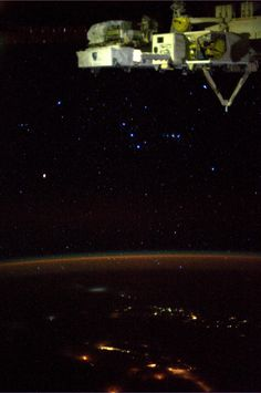 Orion. Taken August 15, 2013.  KN from space.