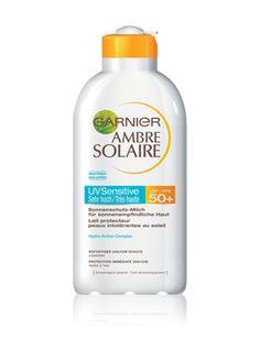 Garnier Ambre Solaire, ohne Parfüm & Alkohol Ambre Solaire, Sun Protection, Shampoo, Beauty Products, Solar, Garnishing, Solar Shades, Alcohol, Cosmetics