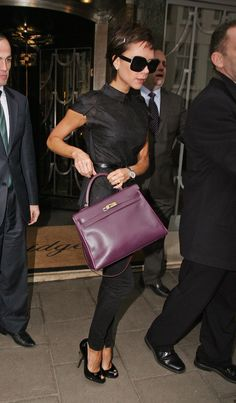 """18 Of Victoria Beckham's Gigantic Bags That Led To The Term """"Poshitis"""""""