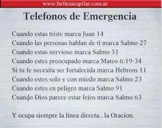 TELÉFONOS DE EMERGENCIA Christian Diaz by. Belleza Capilar www.bellezacapilar.com.ar