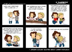 Jensen about Jared