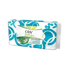Olay Fresh Effects Make-Up Removal Wet Cloths ($4.49) ❤ liked on Polyvore featuring beauty products, skincare, face care, facial cleansing wipes, facial skin care and health and beauty
