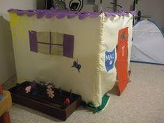 Felt Card table Playhouse