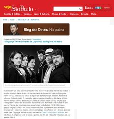 Vingança (1/5 a 4/7/2013). Veículo: site Veja SP - Blog do Dirceu. Clique na imagem para ver a matéria completa.