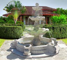 Садовый фонтан Поло   (--Садовые фонтаны, )