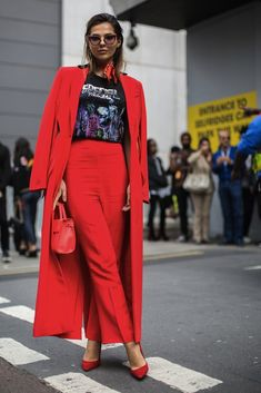 London Fashion Week SS17 Street Style: Day 4
