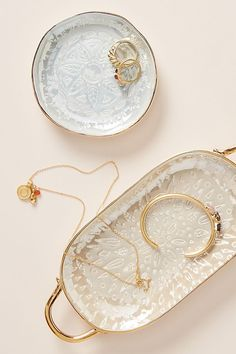 Discover unique bathroom accessories and linens at Anthropologie, including timeless classics and the season's newest arrivals. Jewelry Dish, Jewellery Storage, Royal Doulton, Gifts For Boss, Gifts For Women, Vide Poche Design, Clay Miniatures, Jewelry Holder, Ceramic Art