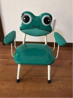 昭和レトロ★カエル★子供 椅子★家具★宇山あゆみファンの方に_画像1