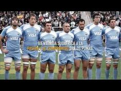Los Pumas - Bienvenida Sudáfrica a la Argentina (good for possessive adjectives too!)