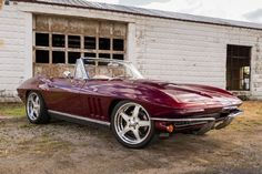 Gene Lee was looking for the perfect classic Corvette and Heartland Customs had this 1966 Chevrolet Corvette ready to be restomodded.