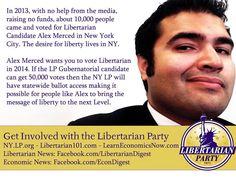 NY Libertarian party Ballot Access