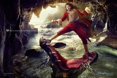 """Annie Leibovitz for Disney """"Year of a Million Dreams"""", Capitan Hook – Russell Brand (2012)"""