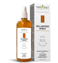 Cell Matrix Spray - Anti Cellulite Firming and Shaping Gel - Natural Fat Burning Formula by HerbXtract - 10 Fluid Ounces Best Firming Body Lotion, Cellulite Oil, Hair Skin Nails, Anti Aging Treatments, Diy Skin Care, Beauty Make Up, How To Get Rid, Beauty Secrets, Beauty