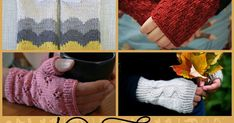 Fingerless gloves are perfect for Fall, they help keep your hands a little extra warm without a bunch of bulk...and keep your fingers free f...