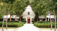 Cape Dutch House, Winelands